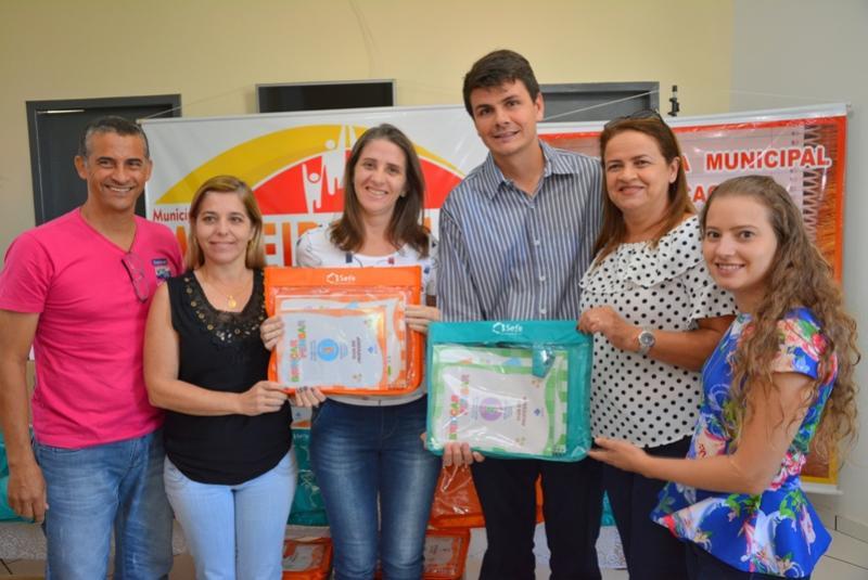 Centros de Educação Infantil recebem materiais pedagógicos para ensino