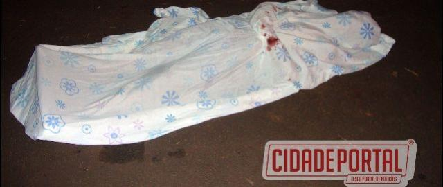 Jovem é morto a tiros em Moreira Sales