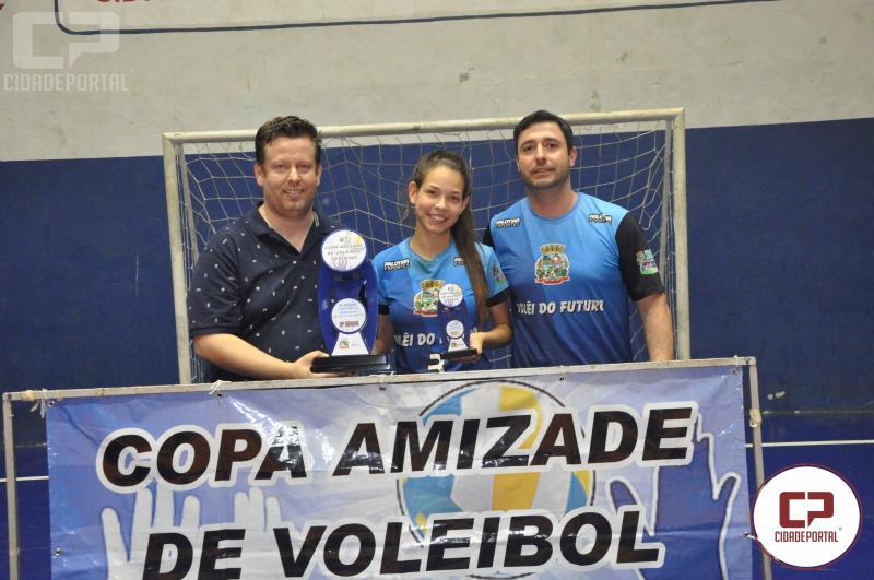 Vôlei feminino de Juranda assume 3º lugar na etapa da Copa Amizade