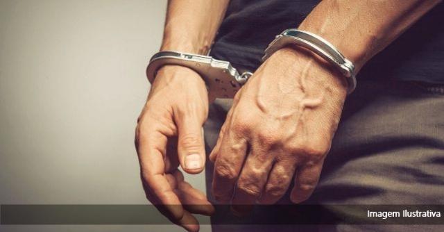 Polícia Militar de Moreira Sales cumpre mandado de prisão durante patrulhamento