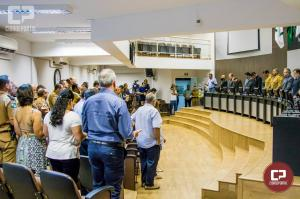 Major Milton José dos Santos recebe Moção de Congratulações do Legislativo de Campo Mourão