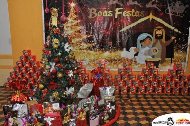 Prefeitura de Moreira Sales realiza encerramento do ano de 2019 com funcionários