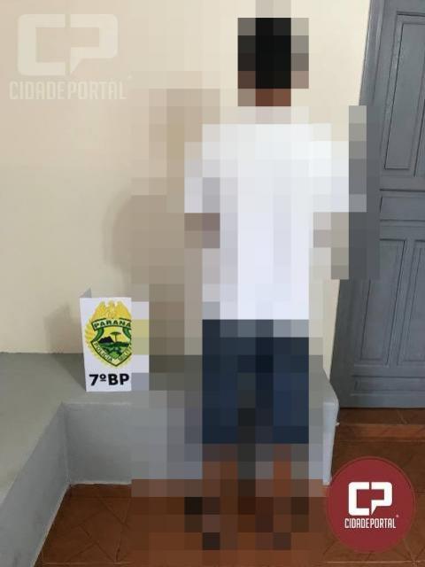 Polícia Militar apreende jovem de 17 anos por ato infracional em Moreira Sales
