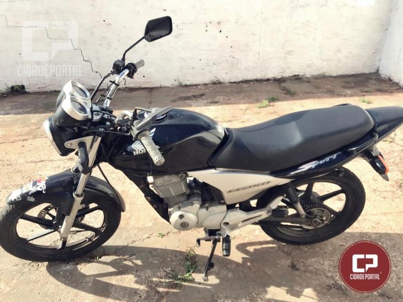 Polícia Militar de Moreira Sales apreende motocicleta pilotada por menor após atropelamento