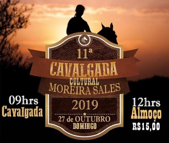 Cavalgada de Moreira Sales será realizada neste domingo, 27