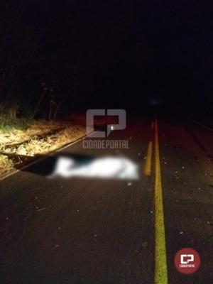 Motociclista perde a vida em acidente automobilístico em Moreira Sales