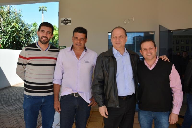 Administração participa de Reunião com Ministro da Saúde em campo Mourão