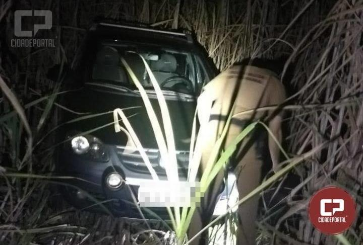 Polícia Militar recupera veículo roubado durante assalto em residência na cidade de Moreira Sales