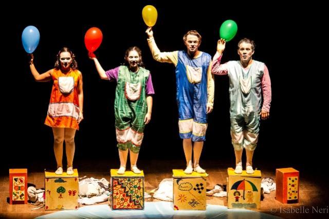 Cia. Do Abração apresenta Mostra Teatral em Moreira Sales
