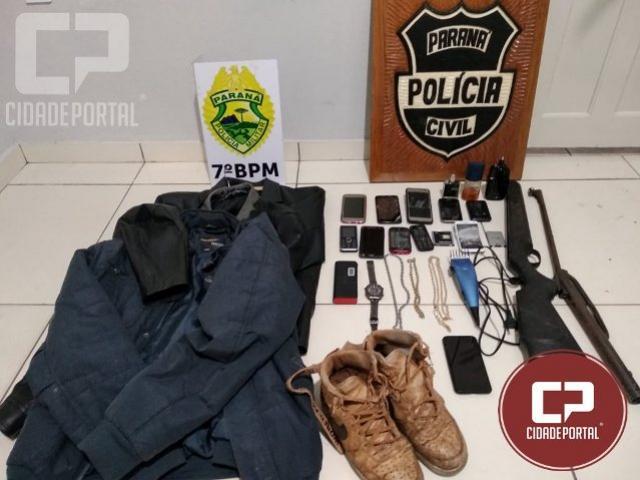 Quatro pessoas foram presas por associação criminosa na Cidade Gaúcha