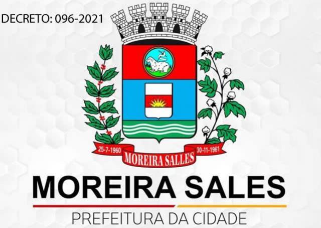Novo decreto em Moreira Sales determina fechamento do comércio de 27 a 31 de maio