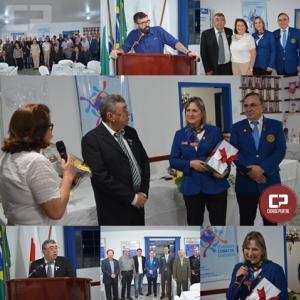 Governador do Rotary visitou Moreira Sales