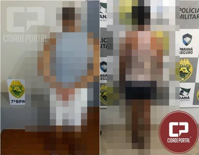 Polícia Militar de Moreira Sales cumpre dois mandados de prisão nesta segunda-feira, 25