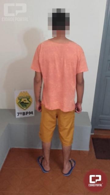 Polícia Militar detém duas pessoas com posse de drogas em Moreira Sales
