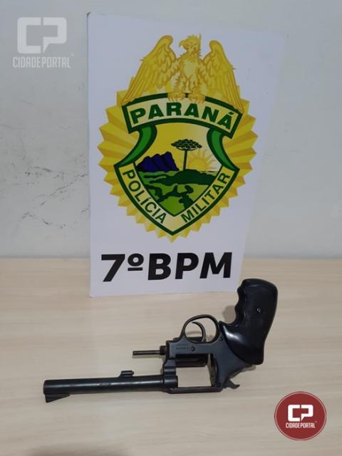 Após briga familiar, homem é preso em posse ilegal de arma de fogo em Moreira Sales