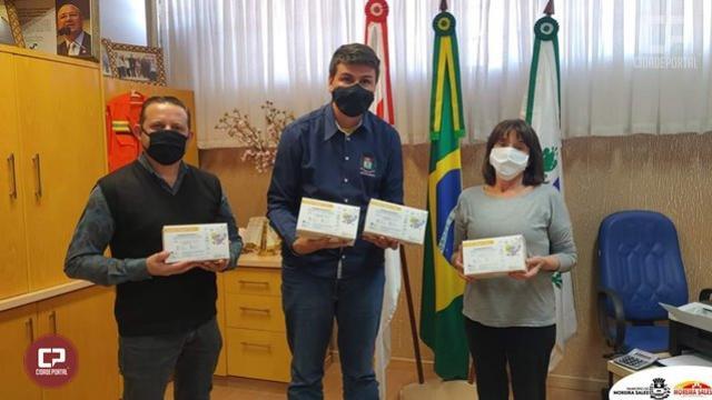 Fazenda Moreira Sales realiza doação de 100 testes rápidos de COVID-19 para o município