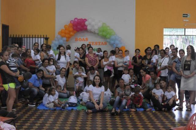 Secretaria de Assistência Social realiza encerramento anual do Programa Criança Feliz