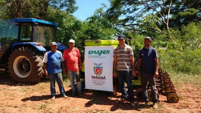 Instalação de Unidade Demonstrativa sobre Integração Lavoura Pecuária em Moreira Sales