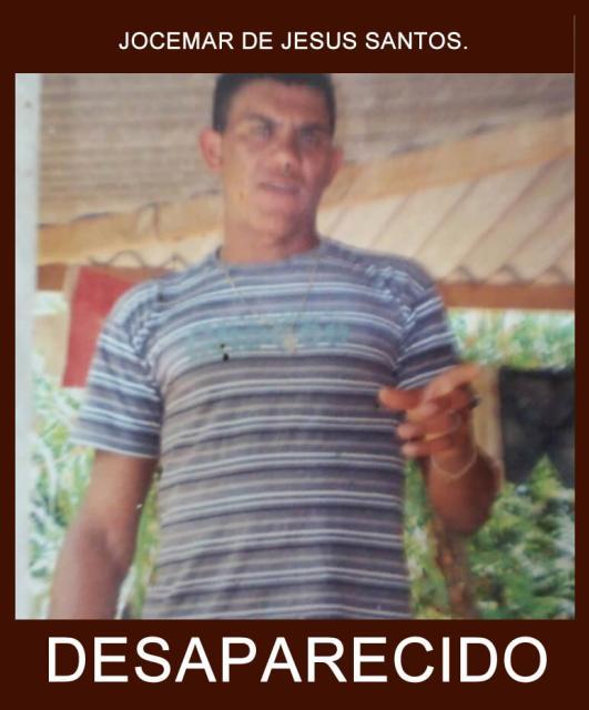 Morador de Moreira Sales de 31 anos esta desaparecido deste sexta-feira, 27